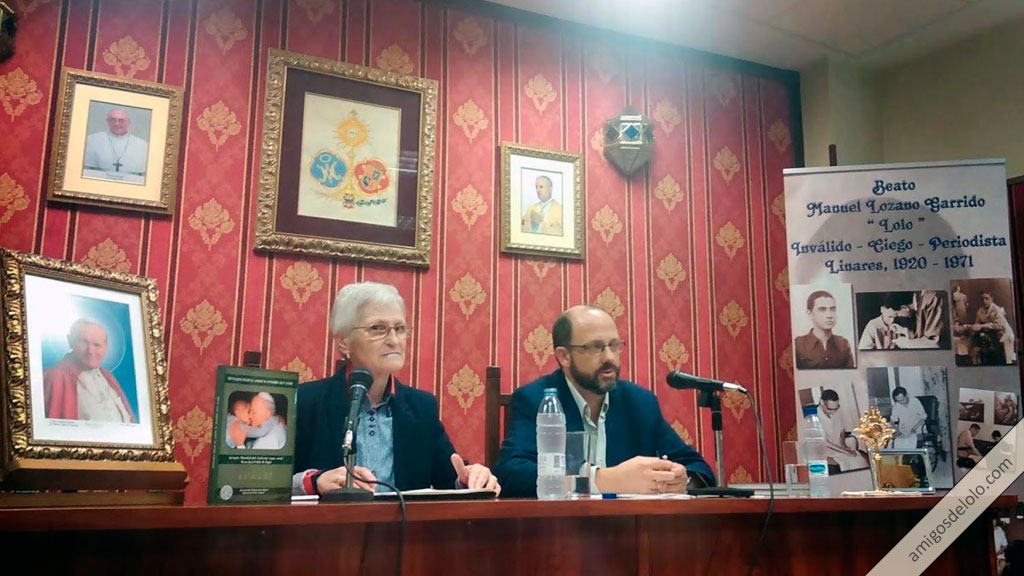 Conferencia.- Dos miradas que se encuentran: Lolo y San Juan Pablo II en mesa redonda con Dios