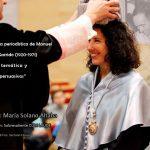 ¡Muchas felicidades, doctora Solano Altaba!